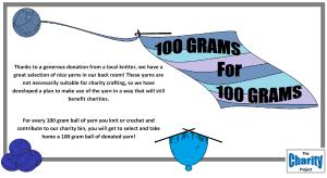 100 grams for 100 grams flyer single